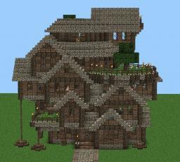 Orita's Castle Minecraft Map & Project