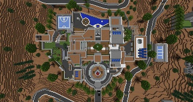 Raid black ops 2 remake by n11ck minecraft project raid top view publicscrutiny Image collections