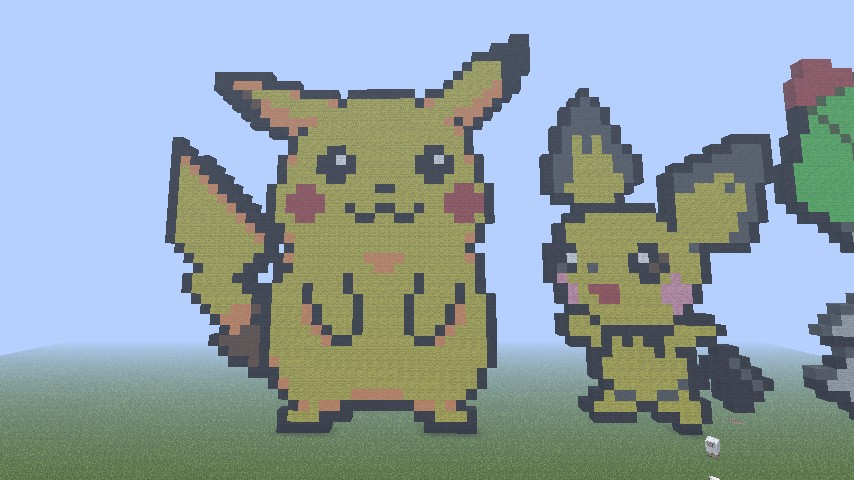 How To Build Pikachu Pixel Art