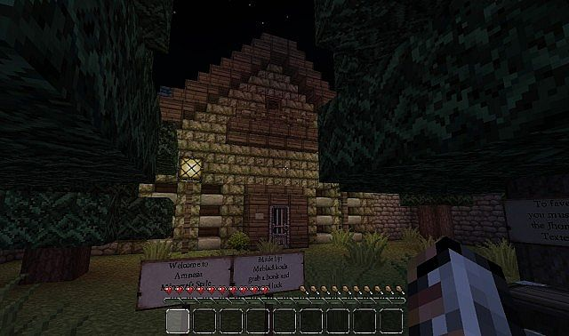 how to add an adventure map on minecraft