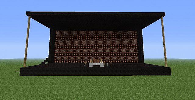 Generic Dj Stage Minecraft Project
