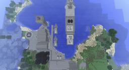 ARMY / AIRFORCE / NAVY BASES PLUS SHIPS TANKS PLANES AND HELICOPTERS!!!! Minecraft Map & Project