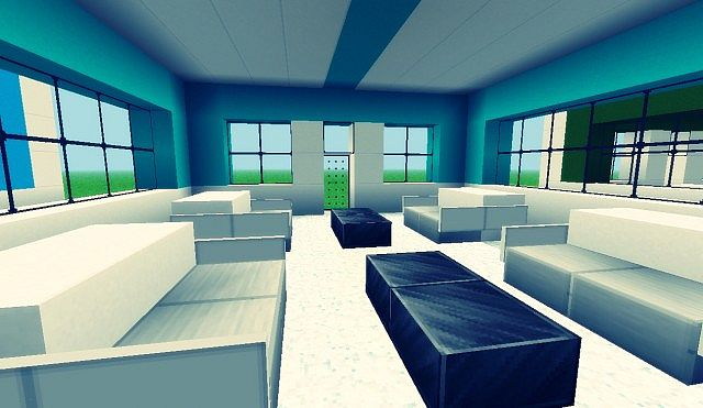 Small Modern Chillout Lounges Minecraft Project