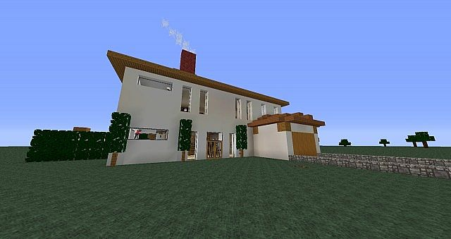 American Modern Style Houses Plus More Buildings Minecraft