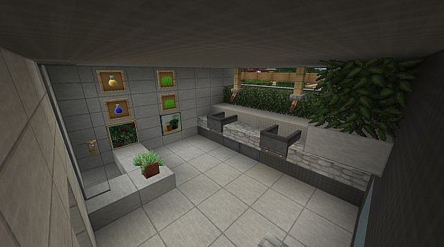 Modern The Sun Residence Luxury Villa Minecraft Project