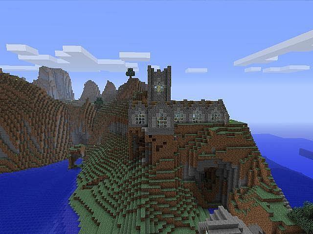 Minecraft XBOX 360 World Villages Towns Rails Ships