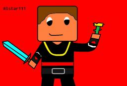 Picture of my Minecraft character, Alstar111 Minecraft Map & Project