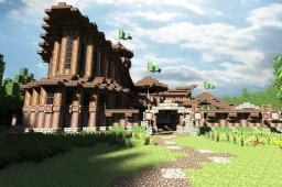 Medieval Archer's Guild Minecraft Map & Project