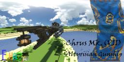 Chrus MK.(VII) Gunship [Airship] [Download availiable] Minecraft Map & Project