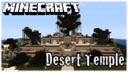 Desert Temple Minecraft Map & Project