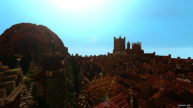 The Dragonpit, with the Red Keep on the horizon
