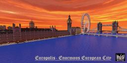 Europolis - Enormous European City  v1.3 Minecraft Project