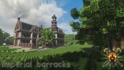 Imperial Barracks - Lands of Asera Minecraft