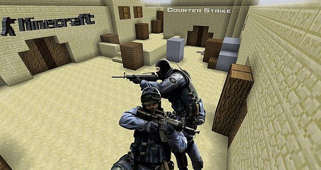 Minecraft Counter-Strike