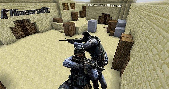 Minecraft Counter-Strike