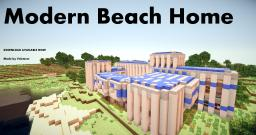 Modern Beach House Download Minecraft Map & Project