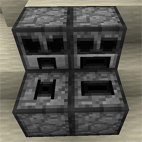 New dispenser vs. dropper blocks.