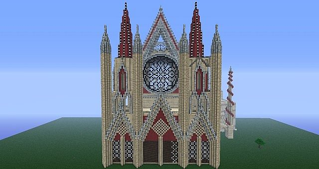 Gothic Cathedral Project Minecraft Project