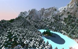 Mountian area :D (10 diamonds?) Minecraft Map & Project