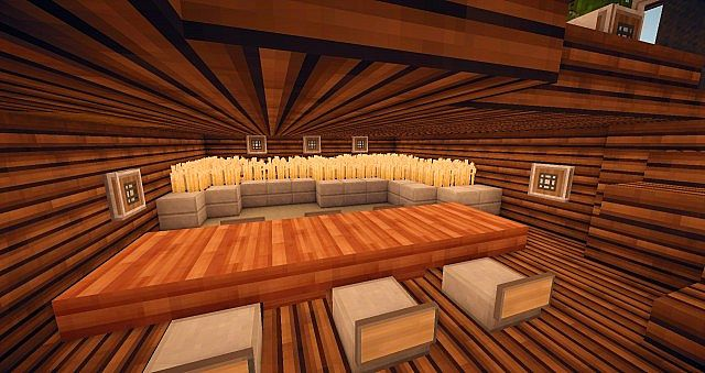 Pane a modern minecraft home minecraft project for Minecraft dining room designs