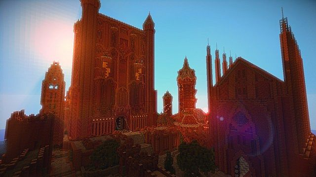 The Red Keep, the castle overlooking Kings Landing