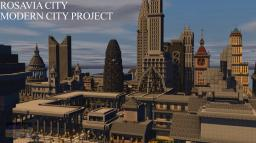 Rosavia City - Modern City Project [DOWNLOAD NOW] Minecraft Map & Project