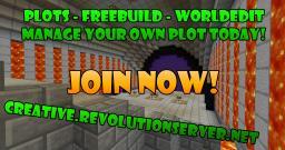 Creative - 80 slots - Powered by Revolution Network Minecraft Server