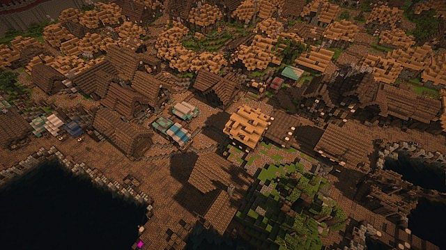 The small docks in the sprawl area