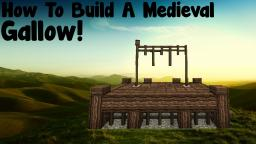 How to build a medieval gallow Minecraft Map & Project
