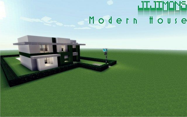 . Modern House Schematic Minecraft Project