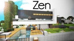 [Modern] Zen - Luxury Japanese Home (30 Minute Challenge) Minecraft Map & Project