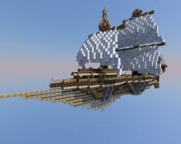 S.S Agilis, A steampunk airship Minecraft Map & Project