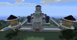 New Castle at spawn Minecraft Blog