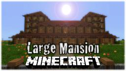 Large Mansion Minecraft Map & Project