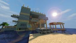 Beach House Minecraft Map & Project