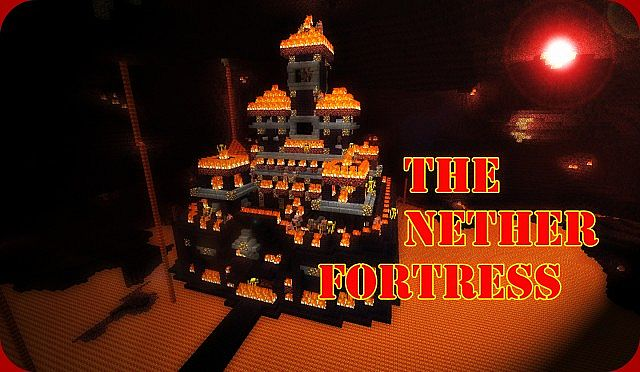 The Nether Fortress Of Fire Minecraft Project