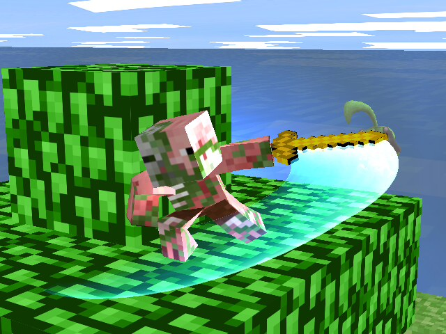 The Sad Tale Of A Zombie Pigman Known As Rick