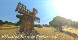 Ellandor Farm- A Medieval Farm Town Minecraft Map & Project