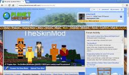 TheSkinMod [Modloader] NEED YOUTUBE REVIEWS! Minecraft