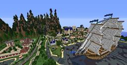 Map relief 1.0 ( biome, landscape and city ! ) Minecraft Map & Project