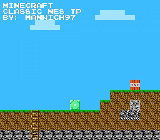 Classic NES 8-Bit Text...