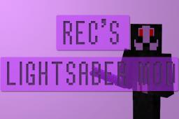 Recreations Lightsaber Mod! [1.4.7] Minecraft Mod