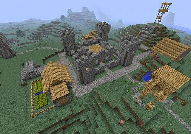 RTS Project - Build A Base Minecraft Project