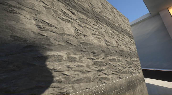 Stone and Nether Bricks