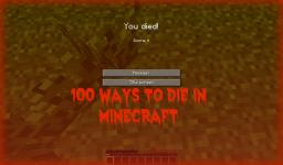 100 Ways To Die In Minecraft Minecraft Blog Post