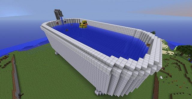 Giant bathtub minecraft project sciox Images