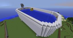 Giant Bathtub Minecraft Map & Project