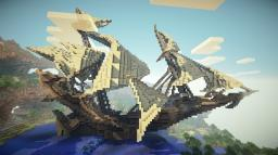 Timelapse - Fantastic Ship - Download Minecraft Map & Project