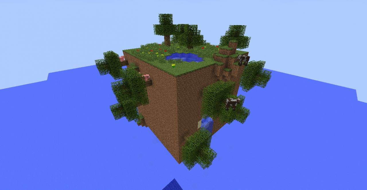 Cube World Map.Cube World Minecraft Project