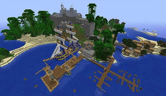 Caribbean Themed Hunger Games Map Minecraft Ps4 Mcps4download